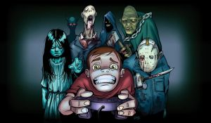 Horror and Games by Jawbone-Lord