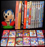 Sonic Collection .:DVDS:. by VeggieMadness