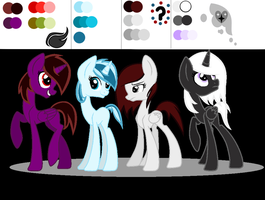 Scaissie' s Girls' color reference by Rare-wonder13