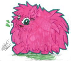(MLP)A Very Fluffy Fluffle Puff! by KrazyKari