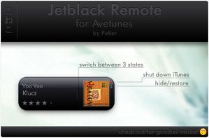 Jetblack Remote for Avetunes by Pe7er