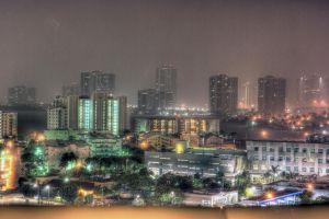 Miami Night HDR by RobbyP