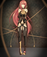 Megurine Luka Techno-Victorian Design by Nii-hon