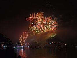 Fleet Review Fireworks 4 by BrendanR85