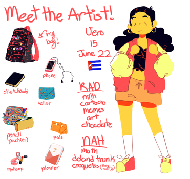 meet the artist ! by PinkCrayolas