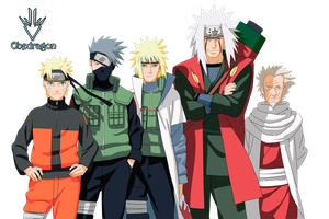 Naruto Generation Render by Obedragon