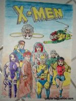 X-Men to the rescue by Lil-Hawk