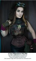 Steampunk Girl Stock 001 by MADmoiselleMeliStock
