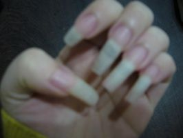 Natural long nails by danis-chan