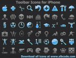 Toolbar Icons for iPhone by yourmailkept