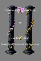 Columns with Flowers Tube Pack by FairieGoodMother