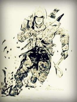 assassins creed connor kenway by mazerati91