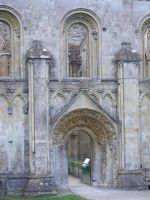Glastonbury Abbey 34 by LadyxBoleyn