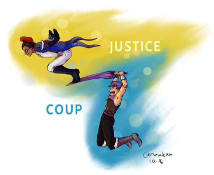 Justice Coup by Ceruulean