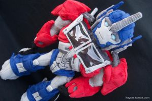 Optimus Prime Plush by CerysKitty