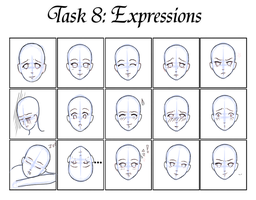 GM task 8- Expressions2 by Teacup-creations