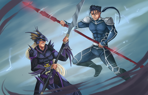 Battle with Spears! by Gotetho
