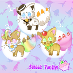 [OPEN!!] Sweet Tooths Adopts 2/3 by BlushingEevee