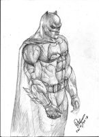 Ben Affleck as Batman by dushans