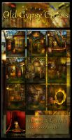 Old Gypsy Circus backgrounds by moonchild-ljilja