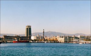 Barcelona 2005 - The harbour by nftadaedalus