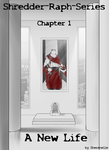 Shredder-Raph-Series: Chapter 1 Cover by Sherenelle