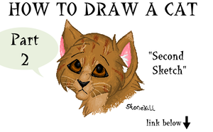 How to draw a cat part 2 by Stonekill