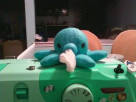Octopus Tissue Dispenser Proto by Love-Who