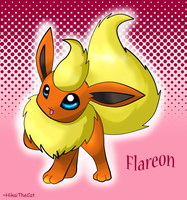 Flareon :3 by cocoasaurus
