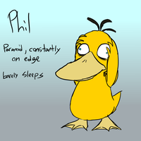 PARPG- Phil the Psyduck by Catmaniac8x