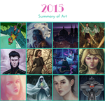 2015 Summary of Art by SmallJoy