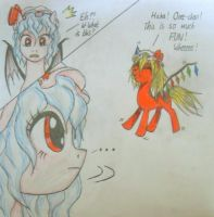 Touhou Scarlet Devil Sisters... Ponified? :) by XMLPliciousX