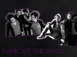 Panic at the Disco Wallpaper by diamondsdoappear2be