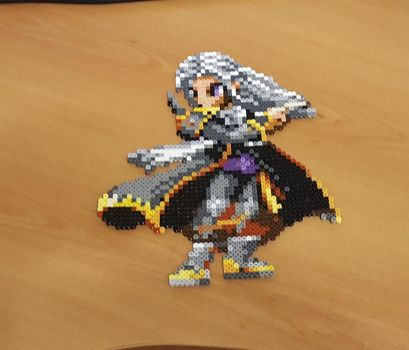 'Setzer' Perler - Final Fantasy Brave Exvius by Shada60