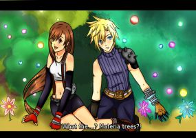 FF7 screen shot:Materia trees by Nahumania