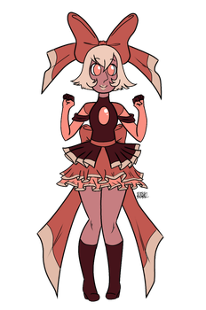 Pink Champagne Pearl Redesign by Keo56