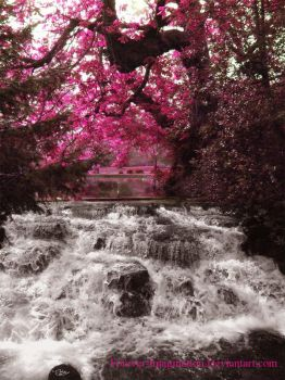 Waterfall by Forever-Imagination