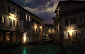 A venice night. by gurgur