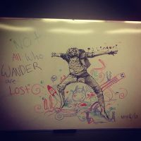 Not All Who Wander Are Lost by L0rnography