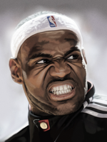 lebron by fungila