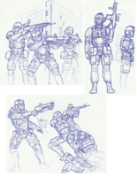 Sketches and Stuffs by Dehzinn