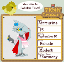 PKMNCrossing: Airmurine App by Domisonic