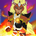 Fire summoner | Digimon Frontier G3! Style by G3Drakoheart-Arts