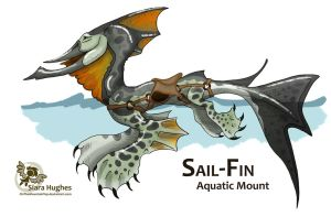 Sail-Fin - Aquatic Mount Design by OnTheMountainTop