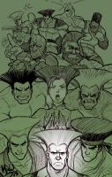 Guile's Hair Goes with (Almost) Everyone by MichaelMayne