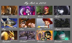 2010 art summary by 14-bis