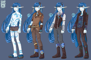 :Wishlist: some outfits for Poseidon by BlackMayo