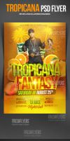 Tropicana PSD Flyer Template by ImperialFlyers