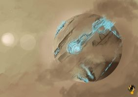 Athenian Hierarchy Dyson Sphere by Schism-Walker