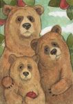 The Three Bears by WhimsicalMoon